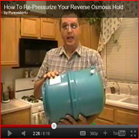 Re-Pressurize Your Holding Tank