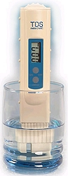 TDS Meter in Glass